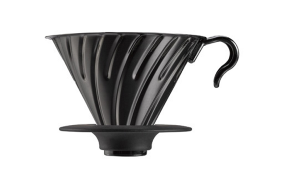 V60 sort metall